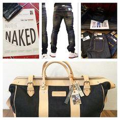 LA NOUVELLE COLLECTION EST LÀ!!! #NudieJeans #jeans de 139.- à 179.- #grimtim #steadyeddie #bags #organiccoton #fairtrade 599.- #underwear 29.- @downtowngeneve 21 rue de Monthoux www.downtowngeneve.com