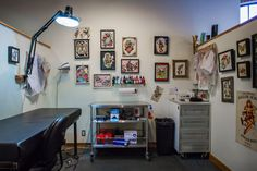 Imperial Tattoo's Industrial Loft Creative Workspace Tour | Apartment Therapy