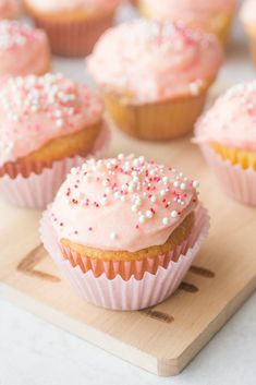 Magnolia Cupcakes with Mascarpone Buttercream Frosting