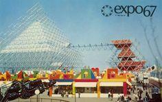 The Gyrotron at Expo Montreal, Quebec, Canada, Expo 67 Montreal, Quebec Montreal, Montreal Ville, Saint Helens, Fair Games, Lounge, World's Fair, Memories, Adventure