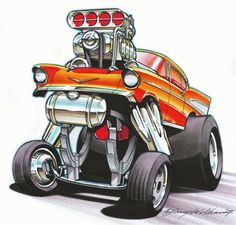 New Luxury Midsize Cars – Auto Wizard Cartoon Car Drawing, Cartoon Kunst, Cartoon Art, Cars Cartoon, Rat Fink, Hot Wheels, Ed Roth Art, Cool Car Drawings, Cars Coloring Pages