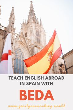 Open to many nationalities and not as strict as other programs, teach English in Spain with BEDA. I work as a English Language Assistant for a program called BEDA, which stands for Bilingual English Development & Assessment. Teaching Programs, Teaching Jobs, Work Abroad, Study Abroad, Becoming A Teacher, European Vacation, Working With Children, Working Woman, Find A Job