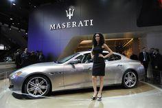 2013 Maserati Quattroporte Ermenegildo Zegna Edición Limitada concepto de imagen