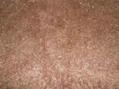 """Brown Short  Nap Pile Plush Fabric  Faux Fur Costume Pillow  36""""    By The Yard"""