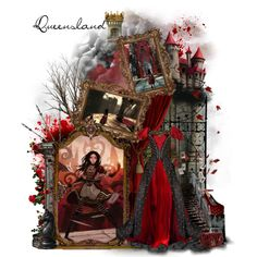 """❈ Queensland ❈ Alice Madness Returns"" by thestars-themoon on Polyvore"