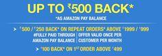 Amazon Now Offer - Upto Rs.500 Cashback As Amazon Pay Balance