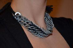 DIY Jewelry : DIY Jewelry: DIY Statement Necklace: Washer necklace