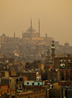 Sunset on the Old City, Cairo | Egypt (by Tom Horton)