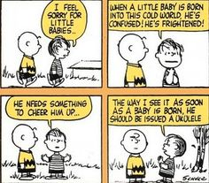 Wise words, Linus.