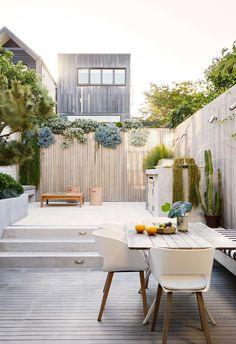 Outdoor Rooms, Outdoor Living, Outdoor Furniture Sets, Lobby Furniture, Terrace Design, Patio Design, Terraced Patio Ideas, Patio Courtyard Ideas, Home Fountain