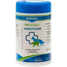 PETVITAL Feuchttücher f.Ohren veterinär:   Packungsinhalt: 120 St Tücher PZN: 00969675 Hersteller: Canina pharma GmbH Preis: 6,44 EUR…