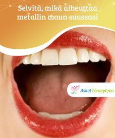 Selvitä, mikä aiheuttaa metallin maun suussasi Metallin maku suussa on yleisempi kuin saattaisit kuvitella. Se voi olla merkkinä lukuisista eri terveysongelmista ja vaihdella lievästä vaikeaan. Beauty, Beauty Illustration