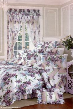 Wisteria Comforter Set.