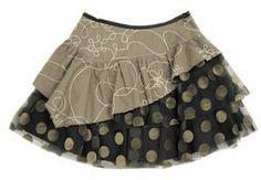 #monpetitchild.com        #Skirt                    #Petit: #Girls #Sportswear #Jean #Bourget #Winter #Layered #Skirt             Mon Petit: Girls - Sportswear - Jean Bourget Winter Dot Layered Skirt                                   http://www.seapai.com/product.aspx?PID=509876