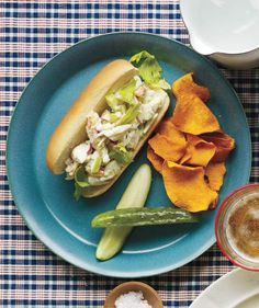 Crab Rolls | Refreshingly easy recipes for when it's too hot to cook.