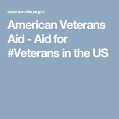 American Veterans Aid - Aid for #Veterans in the US