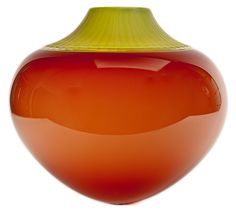 Coral / Lime by Sonja Blomdahl. 2006. Blown glass.