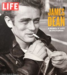 Cover of LIFE  Magazine with James Dean