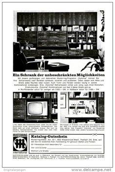 Original-Werbung/ Anzeige 1966 - 1/1-SEITE - MUSTERRING MÖBEL - ca. 150 X 230 mm