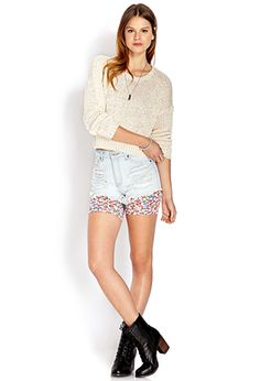 Cozy Cropped Sweater | FOREVER 21 - 2000070360