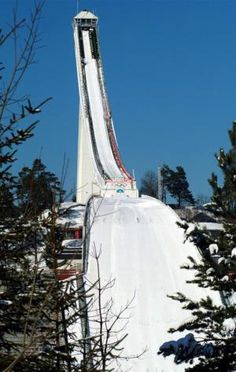 10 Top Attractions in Norway: The Holmenkollen Ski Jump