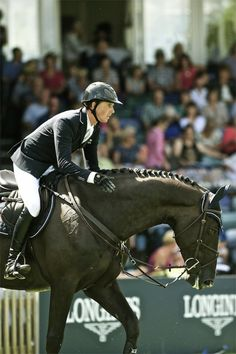 Ben Maher and Tripple X III at Hickstead, 2013.