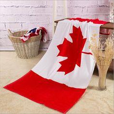 Bath Rowel Cotton Summer Style Beach Towel US UK Flag Print Toalla Playa High Quality Towel Swim Sea 140x70cm toalha de banho