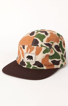 #Zephyr Bubble Camo Camper 5 Panel Hat