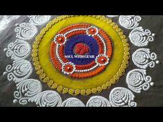 Latest Sanskar Bharti Rangoli Design | New Sanskarbharti Rangoli | रांगोळी संस्कारभारती - YouTube Sanskar Bharti Rangoli Designs, Diwali Special Rangoli Design, Rangoli Designs For Competition, Youtube, Beautiful, Youtubers, Youtube Movies