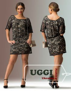 Beautiful Woman dress Guipure Short Sleeve Casual for Summer Plus size #Unbranded #ShirtDress #Casual