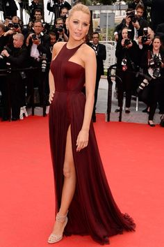 Blake Lively in Gucci -- Cannes Film Festival 2014. I've always loved her style, this one is so glamorous and elegant.