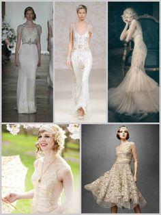 20's style bridal