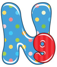 N is for Nine, Baby Alphabet