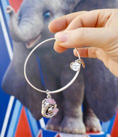 First Look: Brand New Dumbo Bangle By Alex and Ani Cute Jewelry, Bridal Jewelry, Beaded Jewelry, Jewlery, Silver Jewelry, Silver Pendant Necklace, Sterling Silver Necklaces, Funny Elephant, Elephant Stuff