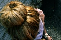 DIY Sock Bun Wow! I am trying this like now!