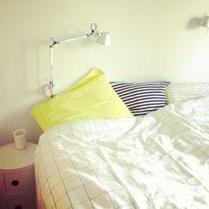 Hay bedsheets