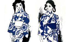 これは気になる!昭和のKawaii、中原淳一デザインの浴衣が完全復刻で数量限定販売