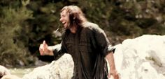 Aidan and Dean behind the scenes. What's so funny?