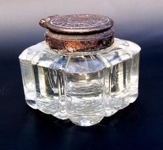 A beautiful inkwell from a more romantic time....