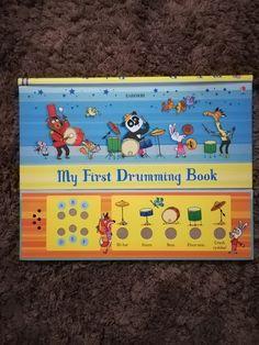 O carte minunata prin care copilul poate invata diferite ritmuri pentru a bate la tobe.