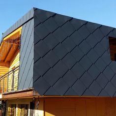 Copertura in alluminio  Scaglia 44 Prefa  #vallestronaenergyhouse