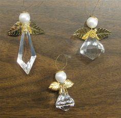crystal bead angels (Mom or myself)