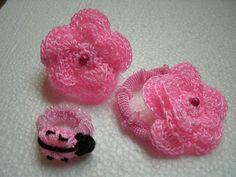 Ana Luisa y sus tejidos Accesorios para el cabello tejidos a crochet
