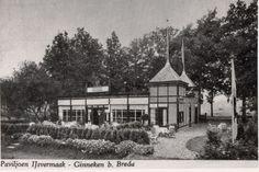 Ijsvermaak Ginneken, paviljoen van begin 1900 tot jaren 60