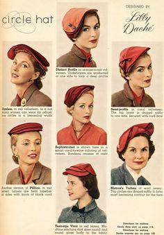 Vintage Outfits, Vintage Fashion, 1930s Fashion, Victorian Fashion, Vintage Shoes, Vintage Clothing, 1950s Hats, 1940s, Idda Van Munster