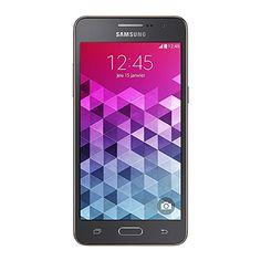 Samsung Galaxy Grand Prime Smartphone débloqué 4G (Ecran : 5 pouces – 8 Go – Simple MicroSIM – Android 5.1 Lollipop) Gris | Your #1 Source for Mobile Phones, MP3 Players & Accessories