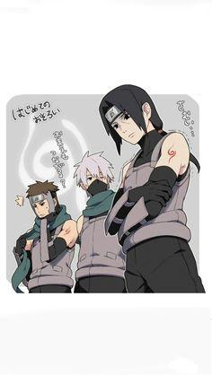 Itachi, Kakashi, and Yamato