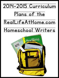 Homeschool Curriculum of the Real Life at Home Writers - great post to check out for lots of different homeschooling styles and ages