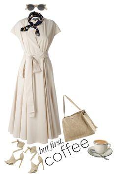 Caffeine Fix: Coffee Break Coffee Break, Caffeine, Salvatore Ferragamo, Weird, Polyvore, Fashion, Moda, Fashion Styles, Fashion Illustrations