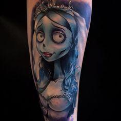 Skin Deep Tales - Tim Burton tattoos by Sam Fiorino - Tim Childs -...